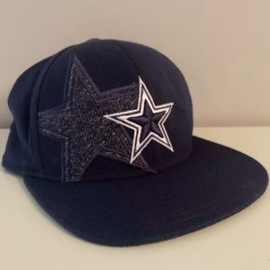 Reebok Onfield Dallas Cowboys Blue Fitted Ball Cap